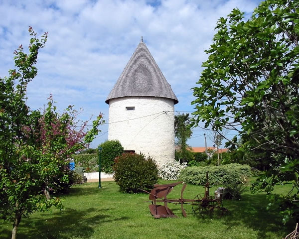 Meschers-sur-Gironde – Moulin de Beloire